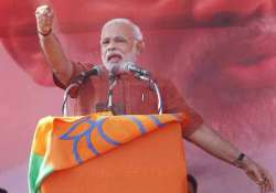 live save india from upa s black magicians says modi in