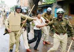 protests in lok sabha over police action in belgaum