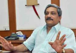 while commenting on red tape parrikar wades into potential