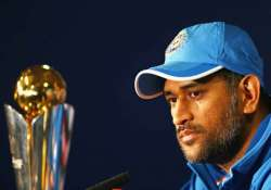 dhoni led team india to leave for t20 world cup on march 14