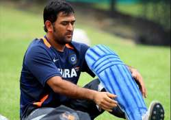 dhoni set for date with destiny at mumbai