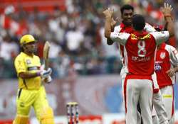 ipl6 csk beat kings xi by 15 runs