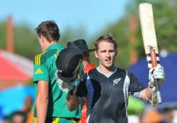 williamson to miss rest of nz south africa series