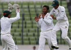 bangladesh name unchanged squad for second test
