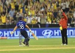 world cup 2015 james taylor misses out on ton due to