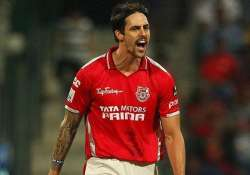 clt20 mitchell johnson not to join kings xi immediately due