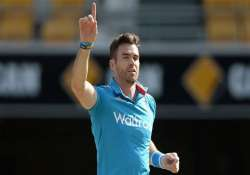world cup 2015 no sledging war with warner says anderson