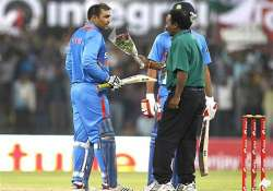 never expected to score a double hundred in odis sehwag