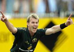 pace on slow pitches no problem for australia says brett lee
