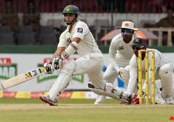 pakistan 404 2 against sri lanka at lunch day two