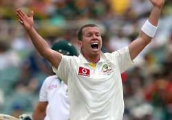 siddle confident of playing 3rd test vs s.africa