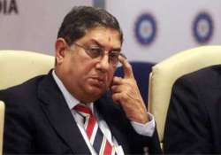 ipl spot fixing sc asks bcci chief srinivasan to step down