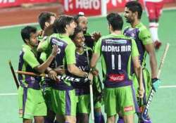hil 2015 delhi beat mumbai for first win in 2015 hil