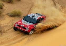 dakar rally crosses peru to chile