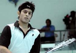 ghosal goes down fighting against world no.1 ramy ashour