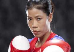 missed glasgow but ready for asian games mary kom