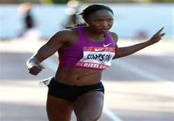jamaican sprinter simpson gets ban
