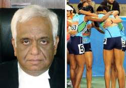 retd justice mudgal to probe doping scandal