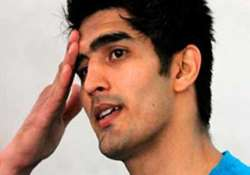 vijender s coach advises him to give hair blood samples for