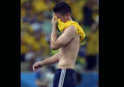fifa world cup with tears leading scorer going home