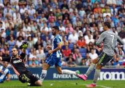 cristiano ronaldo hits 5 for madrid messi lifts barca over