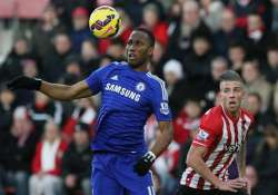 chelsea held 1 1 at southampton in premier league