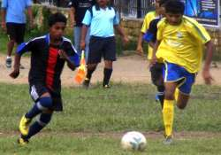 ongc hp youth football festival stage set for exciting semi