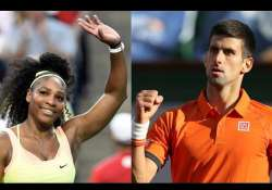 us open 2015 serena djokovic roll but nishikori falls