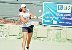 rishika goes down fighting to chinese rival