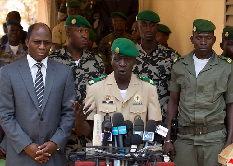 mali coup leader reinstates old constitution- India Tv