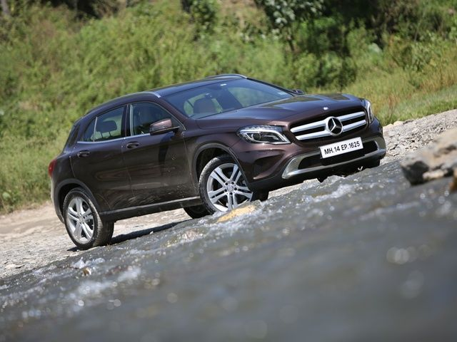 Top 10 suvs in india for Mercedes benz gla india