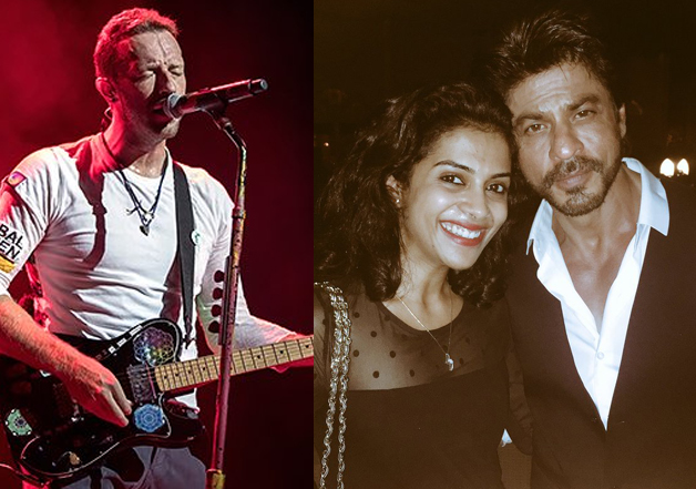 New Delhi: Chris Martin, front man of British band Coldplay, partied with the who's who of Hindi film industry on Thursday. Chris will be performing along with his band at the Global Citizen Festival India tomorrow.