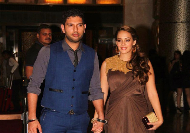 One of the most adorable couples Yuvraj Singh and Hazel Keech are all set to tie the knot this year. Both of them dated for over a year. They are head over heels in love, but it was not easy for Yuvi to win Hazel's heart.
