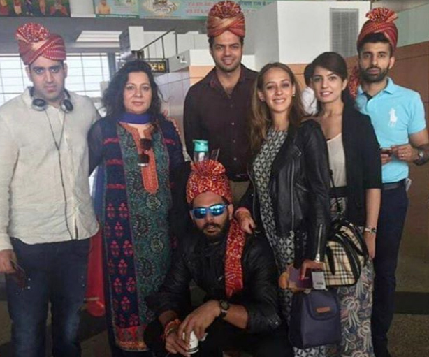 Star Cricketer Yuvraj Singh, after tying the knot with his actress fiancée Hazel Keech in a traditional gurudwara wedding in Punjab, headed to Goa for the next batch of marriage celebrations. Their fancy wedding ceremony is to be graced by Virat Kohli and Anushka Sharma as well as Mahendra Singh Dhoni with wife Sakshi and will take place at Teso Waterfront in Goa. Let's have a look at the inside pictures.
