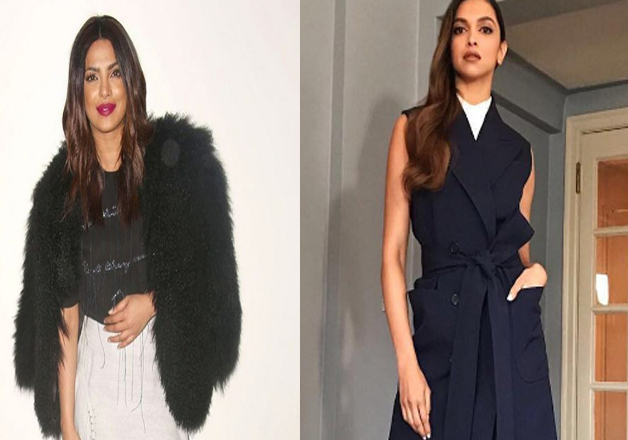 Bollywood actresses Priyanka Chopra and Deepika Padukone once again impressed Hollywood when they made their stylish appearances at New York Fashion Week. PeeCee attended Prabal Gurung's show whereas Deepika graced Michael Kors' show. Here are pictures from the event.