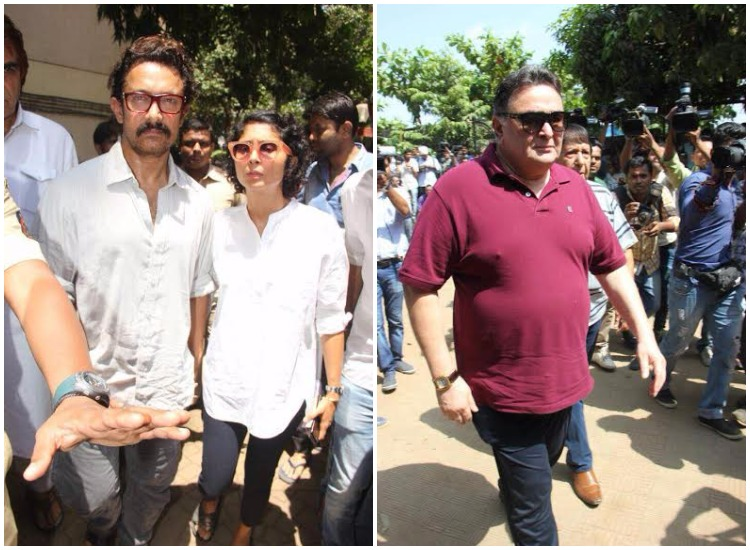 Paying last respects to Bollywood's beloved mother Reema Lagoo, the film and TV industry attended her funeral at Oshiwara Mumbai. The Naamkarann star breathed her last on Thursday at the Kokilaben Dhirubhai Ambani Hospital.
