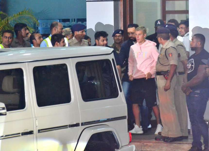 As soon as international pop sensation Justin Bieber arrived in India there was complete hullabaloo everywhere.
