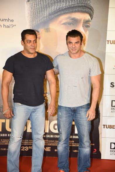 The much-awaited Tubelight trailer was launched by the makers on Thursday. Right from Salman Khan, Kabir Khan were spotted at the event