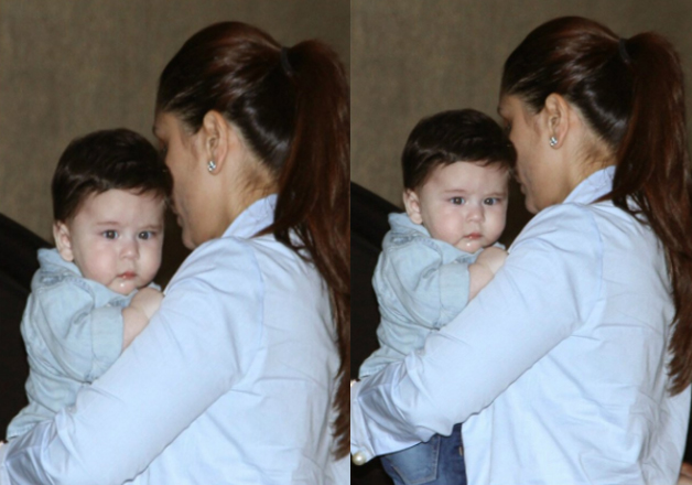Kareena Kapoor Khan and Saif Ali Khan's son Taimur Ali Khan Pataudi is hardly six months old and the kid has already started to grab all the limelight.