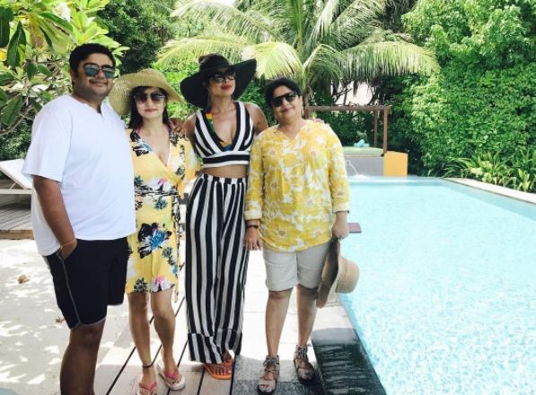 International icon Priyanka Chopra, who has turned a year older today, planned a family trip along with her family and close buddies.