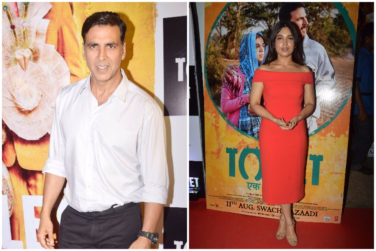 Akshay Kumar's much awaited film Toilet Ek Prem Katha released today. Interestingly, a special screening of the film was organised at Yash Raj studios yesterday.
