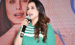 Rani Mukerji at Hichki's song launch