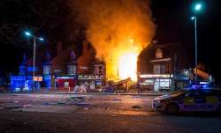 Two-storey house gutted after a major explosion in