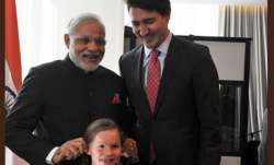 PM Narendra Modi tweets photo with Canadian PM Justin