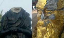 This is the second time Tamil icon Periyar's statue has