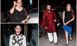 Saif Ali Khan, Kareena Kapoor, Karisma Kapoor