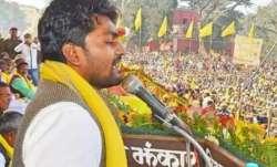 Addressing a rally in Chandauli district, Arvind Bhar said