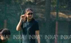 Kareena Kapoor Khan was spotted at Taimur's school on