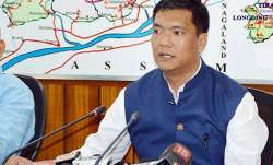 A file photo of Arunachal Pradesh CM Pema Khandu