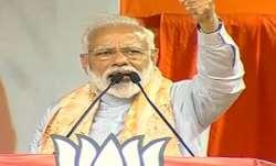 "PM Modi said he felt ""pity"" for Mamata Banerjee as the PM's"